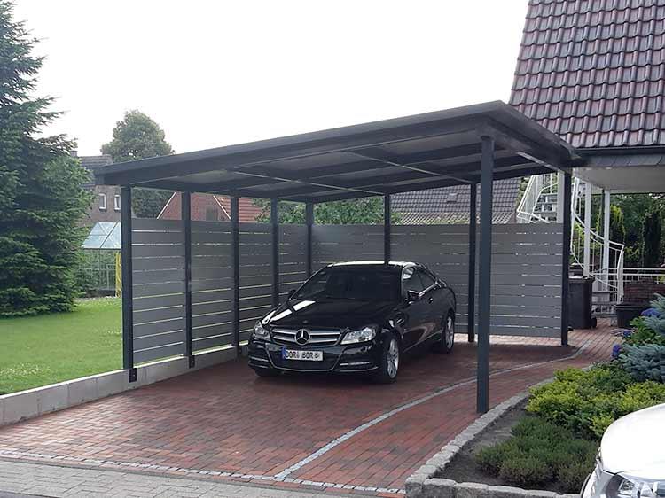 Nießing GmbH, Metall- und Stahlverarbeitung - Carports